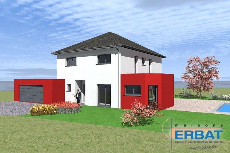 Maison ERBAT à Eteimbes