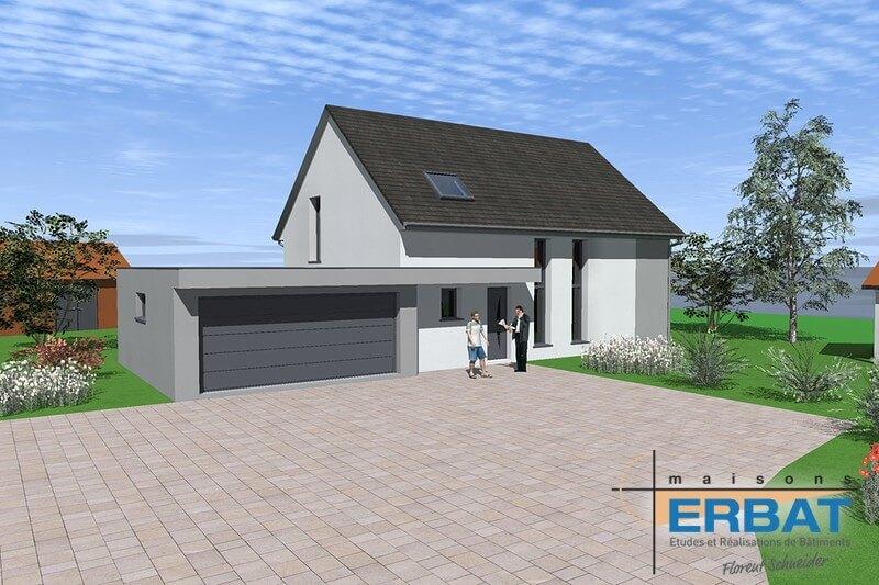 Maison ERBAT à Husseren