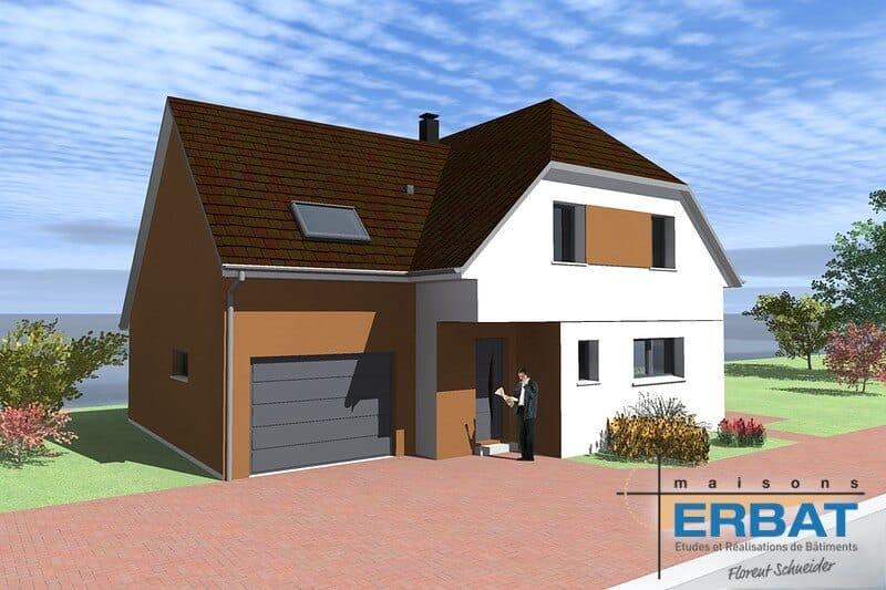Maison ERBAT à Uffholtz