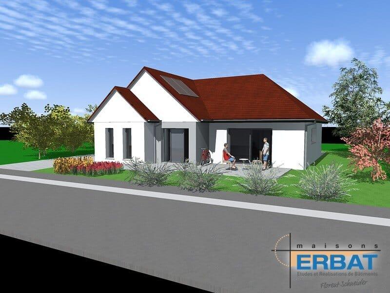 Maison ERBAT à Ungersheim